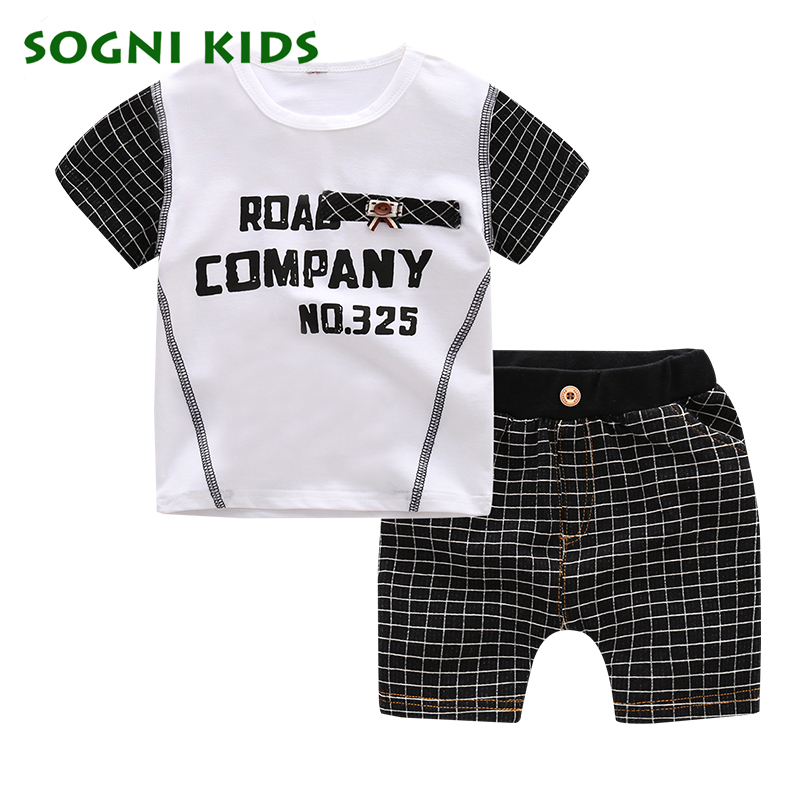 boys children clothing sets sports tracksuit short sleeves t shirt T-shirt shorts summer Cotton casual kids clothes for boy set beanbus summer children s t shirts for boys casual t shirt o neck printing cartoon cotton boys short sleeved t shirt boy clothes