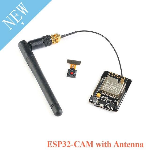 ESP32 CAM WIFI บลูทูธกล้องโมดูล ESP32 CAM บอร์ด 5V OV2640 2MP พร้อม IPEX เสาอากาศ ESP 32S ESP32 S สำหรับ Arduino