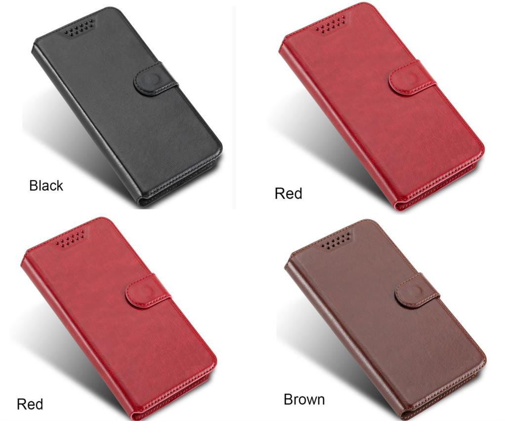 Luxury Wallet PU Case For Highscreen Power Four Case Flip Leather Exclusive Cover Book Card Slots For Highscreen Ice 2