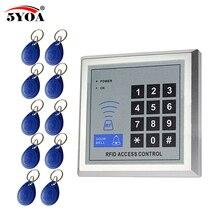 5YOA RFID, sistema de Control de acceso, dispositivo, seguridad, proximidad, puerta de entrada, cerradura de calidad