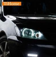 Para mitsubishi lancer 9 (ix) kit no proyector ccfl angel eyes anillos de halo anillos ojos de automóviles envío libre