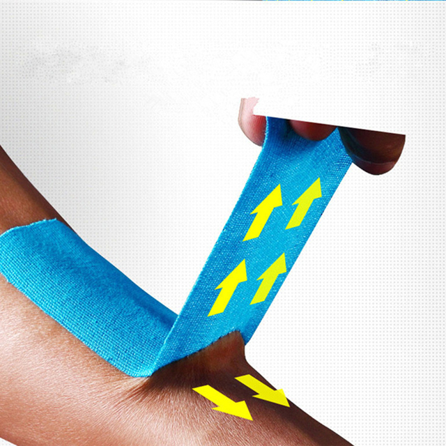 2 Size Kinesiology Tape Perfect Support for Athletic Sports, Recovery and Physiotherapy Kinesiology Taping 5