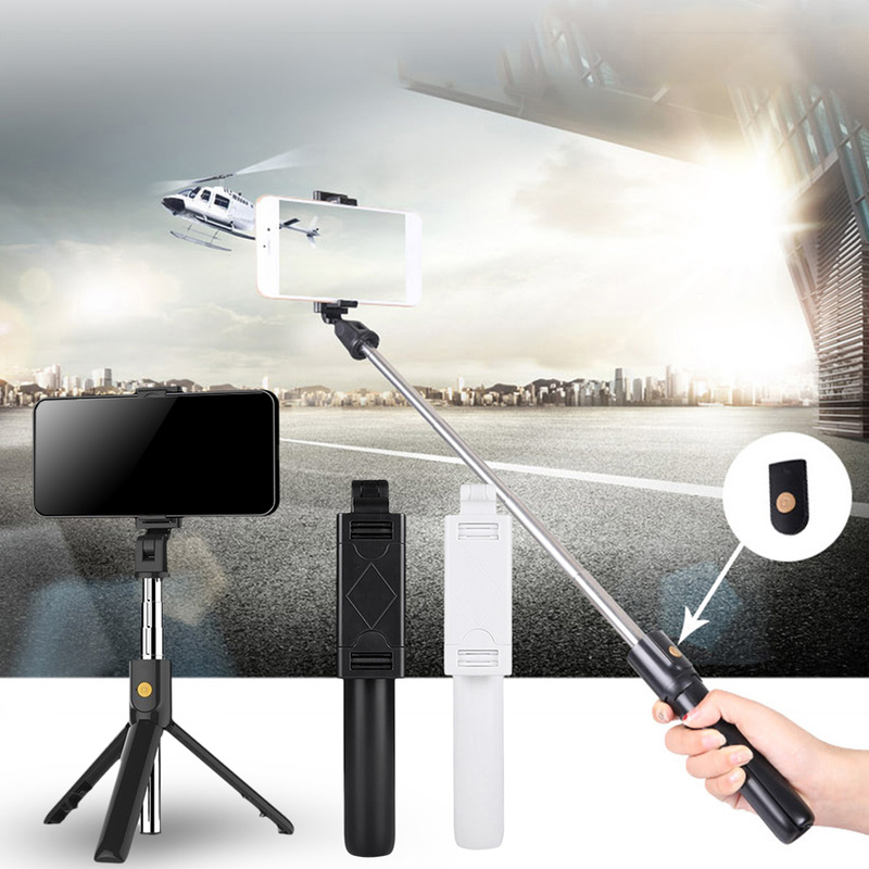 Mobile Phone Holder Tripod Camera With Wireless Bluetooth Remote Self-Timer Artifact Rod For Phones G0pro for xiaomi mi 9 redmi
