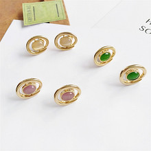 New summer deformation jewelry fashion geometry earrings for women 2018Fashion statement Delicate