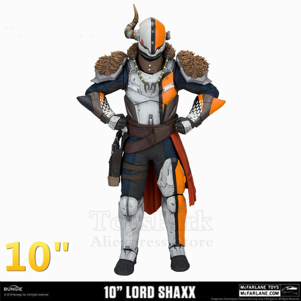 Mcfarlane 10 Destiny 2 Lord Shaxx Action Figure 10 inch S Bungie Game The Crucible Model Toys Doll Collection OriginalMcfarlane 10 Destiny 2 Lord Shaxx Action Figure 10 inch S Bungie Game The Crucible Model Toys Doll Collection Original