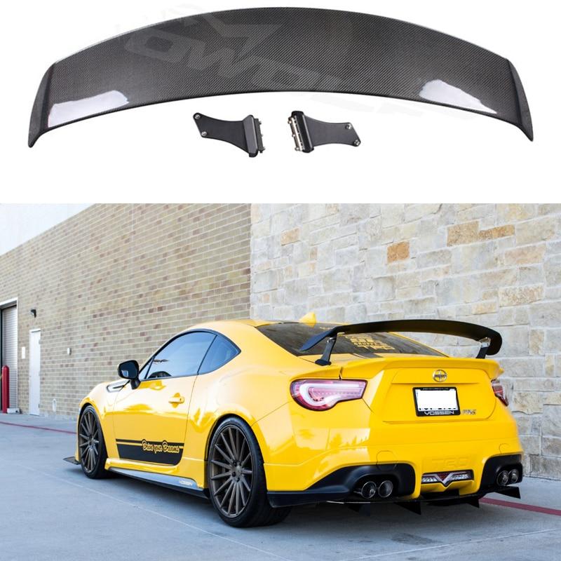 Carbon Fiber CAR REAR WING TRUNK Lip Spoiler For Toyota GT86 Subaru BRZ Scion FR-S 2012 2013 2014 2015 2016 2017 SARD Style