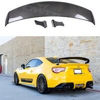 Carbon Fiber CAR REAR WING TRUNK Lip spoiler For Toyota GT86 Subaru BRZ Scion FR S 2012 2013 2014 2015 2016 2017 SARD Style