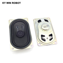Купить с кэшбэком 2PCS/Lot LCD Monitor/TV Speaker Horn 3W 8R 4070 Loud speaker 8 ohms 3 Watt 8R 3W 40*70MM thickness 20MM