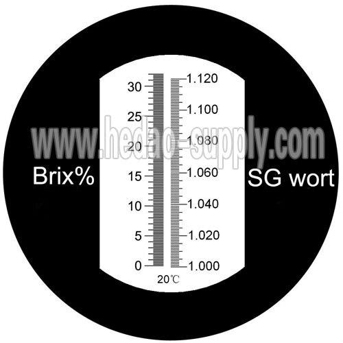 0 32brix 1000 1120 Wort Specific Gravity Beer Refractometer