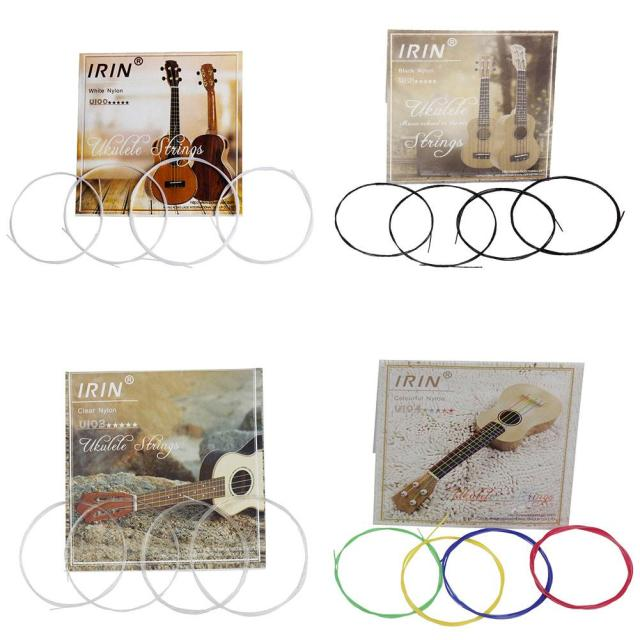 Colorful Nylon Ukulele Strings 4 pcs/Set
