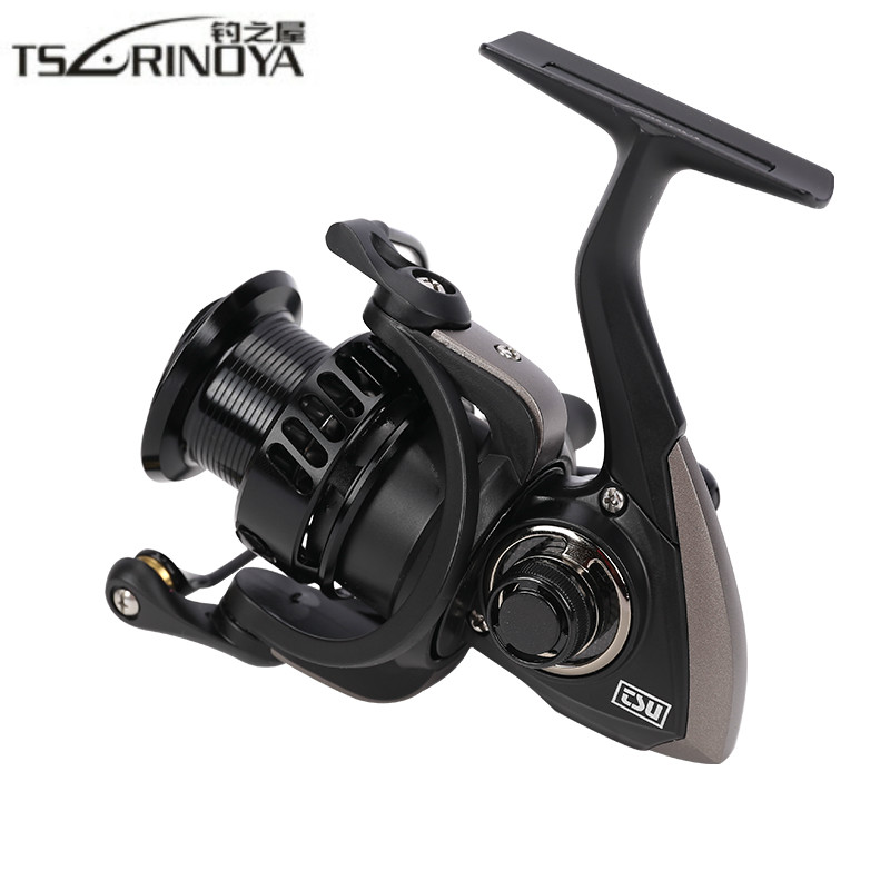 TSURINOYA FALCON 2000/3000 Spinning Reel 8+1BB 5.2:1 Drag 7KG Carretilha De Pesca Spinning Fishing Reel for Saltwater/Freshwater tsurinoya fs3000 spinning reel 9 1bb 5 2 1 bevel metal spool lure reel max drag 7kg molinete para pesca for saltwater fishing