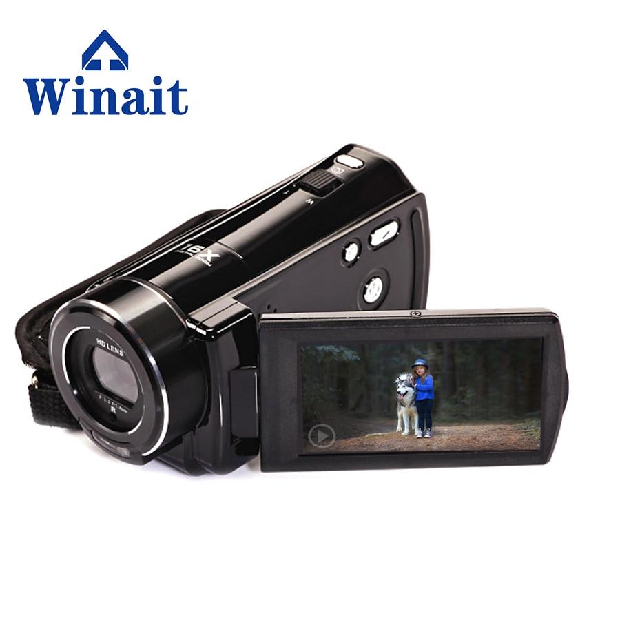 24MP 1080P Cheap Mini HD Digital Video Camera Professional 16X Digital Zoom 5MP CMOS Sensor Camcorder Freeshipping 5mp cmos digital video camcorder w 16x digital zoom hdmi sd black 3 lcd