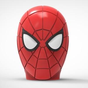 Image 2 - Spider Man Bluetooth Speaker Wireless Bluetooth V5.0 Subwoofer With FM Radio TF Card For Phone PC Speaker High Definition Sound