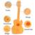 Venta caliente de los niños juguetes musicales guitarra simulación instrumento de cuerda guitarra aprendizaje temprano niños educational toys