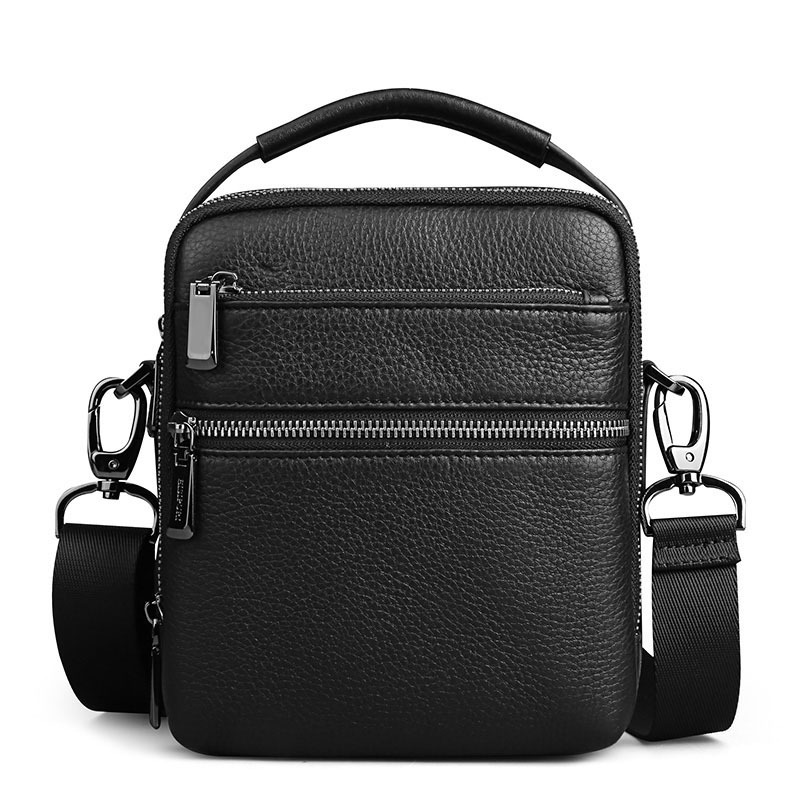 2018 Genuine Leather Men Bags Ipad Handbags Male Messenger Bag Business Cow Genuine Leather Crossbody Shoulder Bag Travel Bags цена 2017
