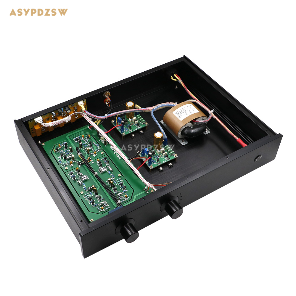 Dual power supply NAC152XS Preamplifier Base on NAIM NAC152 amplifier With 4 input signal switching