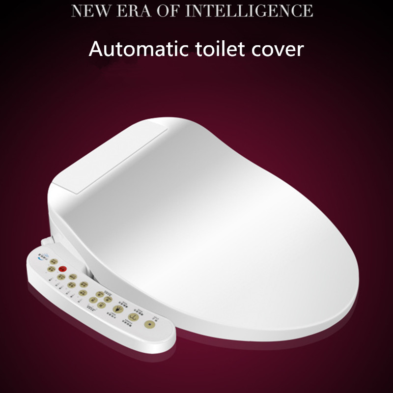 Smart Heated Toilet Seat Instant Hot Type WC Sitz Intelligent Automatic Toilet Lid Cover Electric Bidet Cover Female Washing