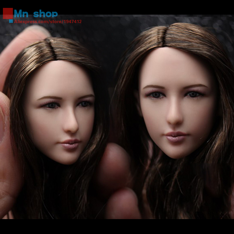 In-stock 1/6 Female Head Sculpt Zhu Xian Beauty Head Carving for 12 Collectible Action Figure Dolls Free Shipping