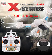 MJX X400-v2 100% Original 2.4G 6-Axis 4CH RC Helicóptero de Control Remoto RC Quadcopter Drone Con o sin C4002 HD cámara