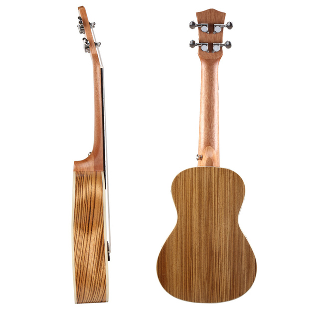 Soprano Concert Ukuleles with Plastic Binding