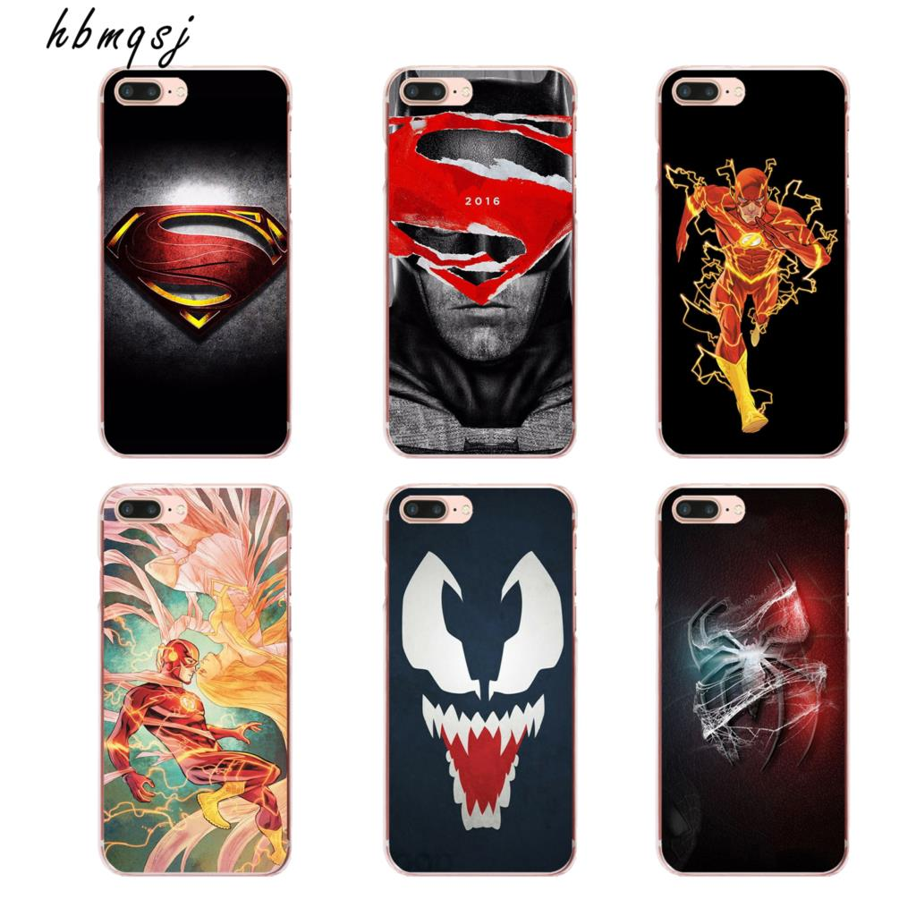 Cool Spiderman Pattern Design Silicone for iPhone7plus case Fashion Cartoon Spider Hard Mat For Apple iPhone 7 plus Cases Cover