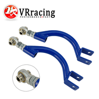 VR RACING BLUE FOR 95 98 240SX S14 S15 R33 REAR ADJUSTABLE CAMBER CONTROL ARM KIT SUSPENSION VR9817
