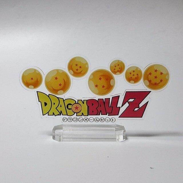 dragon ball z action figure son gokou diy base plates toy acrylic