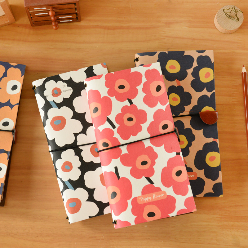 Korean Stationery Vintage Notebooks And Journals Creative Cute Travelers Notebook Diary Planner For Daily Memos