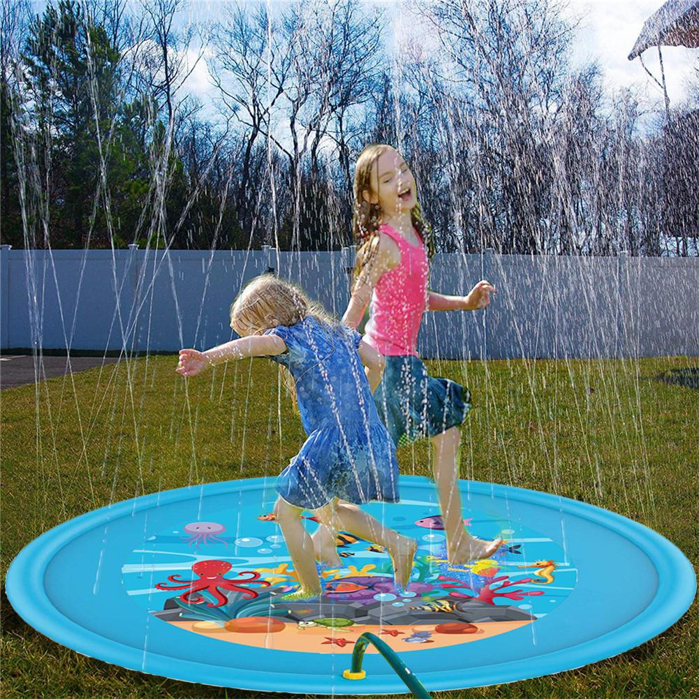 Children's Outdoor Entertainment Water Splash Pad PVC Environmentally Friendly Inflatable Sprinkler