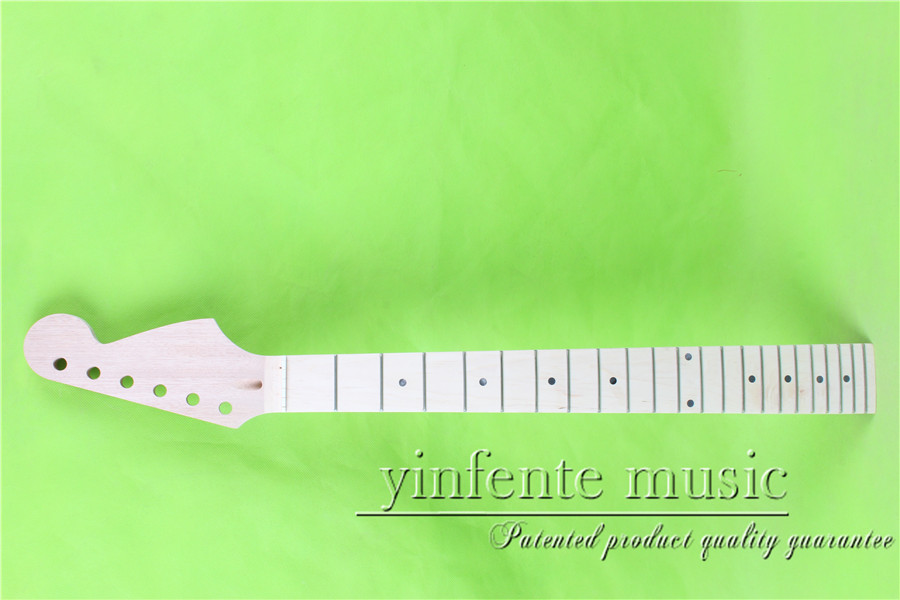 S-0019+1 # 25.5    Electric guitar neck    fine quality   maple     fingerboard 22  fret s 0028 4 25 5 electric guitar neck fine quality maple fingerboard 21 fret