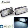 2X Coche LED Luces de la Matrícula 12 V SMD3528 LLEVÓ Matrícula Kit de Bombilla de la lámpara Para Mercedes Benz W203 W211 W219 5D R171 accesorios
