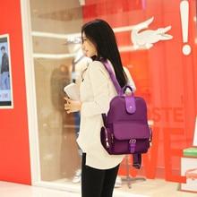 2017 Холст Рюкзак Женский Оксфорд отдыха и путешествий Рюкзаки модные женские туфли Сумки Ретро Повседневное Рюкзаки Школьные сумки для подростков