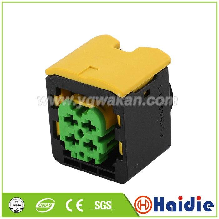 Free shipping 2sets 4pin Nitrogen Oxygen Sensor Controllerauto wire waterproof connector 3-1418390-1