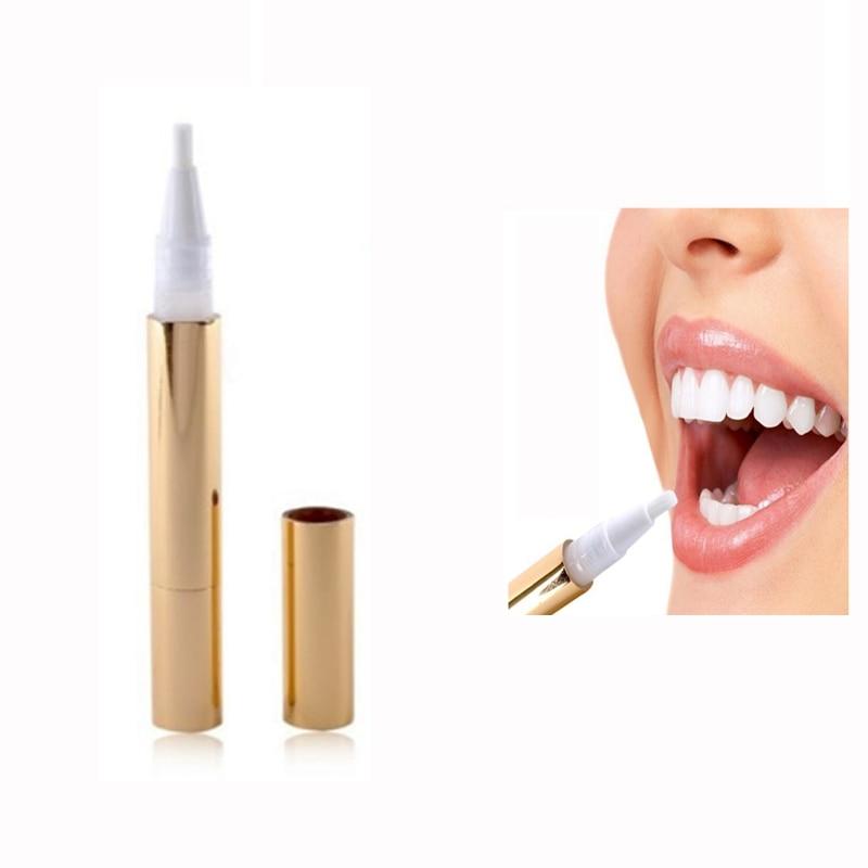 Hot 1 pcs Popular White Teeth Whitening Pen Tooth Gel Whitener Bleach Remover Stains Oral Hygiene veneers teeth dental Care Pen