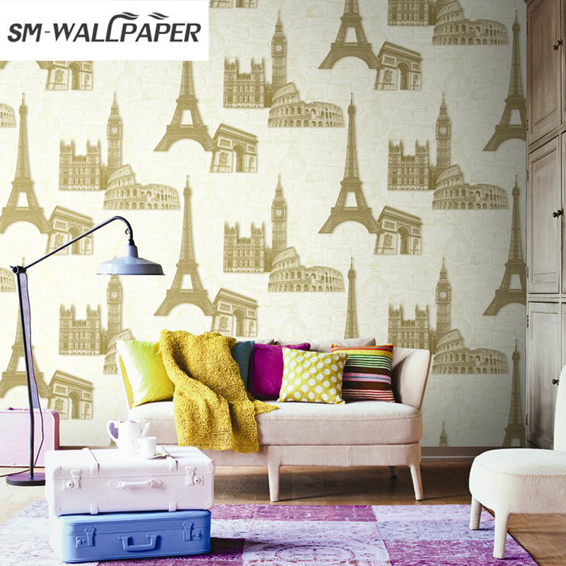 PVC 3D Crazy Modern Pattern Paper Wallpaper Roll For living Room Background luxury pvc wallpaper roll letter pattern wallcover paper mural modern pink for kids living room home decoration free shipping pa