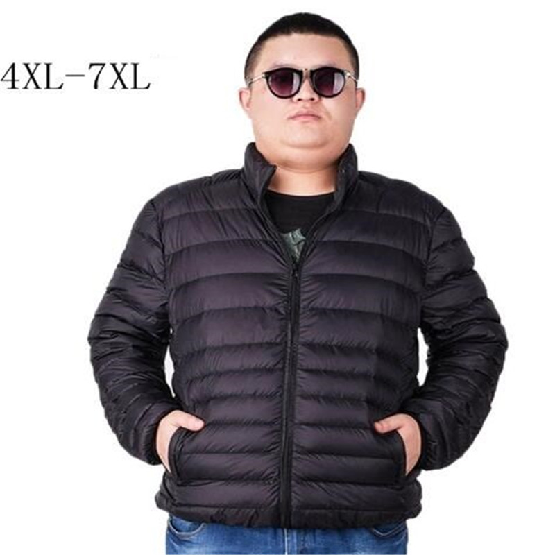 Vests & Waistcoats Jackets & Coats Industrious Brand Plus 5xl 6xl 7xl Ultra Light Down Jacket Mens Large Size Down Coat Male Feather Parka Man Lightweight Overcoat Relieving Heat And Thirst.