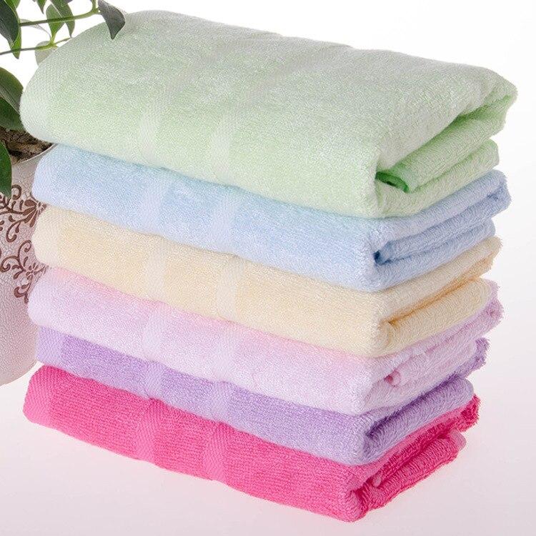 2016 New Arriving Bamboo Fiber Toalha Serviette  En Bambou Unisex Face Towel Satin Dobby Anti-virus Antibacterial Anti-mites