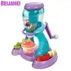 Beijamei кухонный самодельный лед, машина для приготовления крема, портативный, для использования, для хранения замороженных фруктов, десертна...