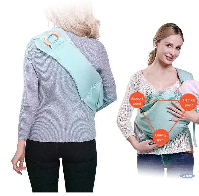 New Baby Sling Carrier For NewBorn Baby Carrier Sling Load 20KGS Durable Baby Wrap Ergonomic Baby Kangaroo