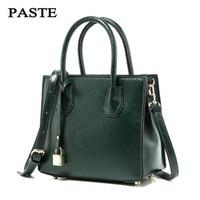 2017 Genuine Leather Women Bag Fashion Women Handbag Large Shoulder Bags Elegant Ladies Tote Satchel Purse