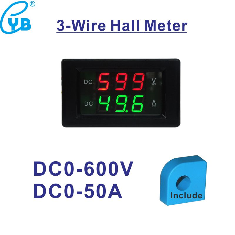 The Best Ac Ammeter 50a Include Transformer 50a Ac Current Meter Led Display Red Blue With A Cover Ac Ampere Panel Meter Ac Amperemetre High Quality Materials Current Meters Electrical Instruments