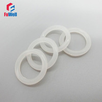 5.7mm Thickness White O-ring Seals Gasket Silicon Food Grade OD 80/85/90/95/100/105/110/115/120/125mm O Ring Seals Washer