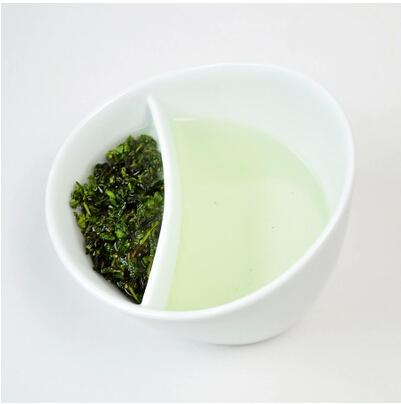 Creative Porcelain Tilt Tea Cup Tilt Mugs with Filter Magisso Oblique Fall Smart Teacup