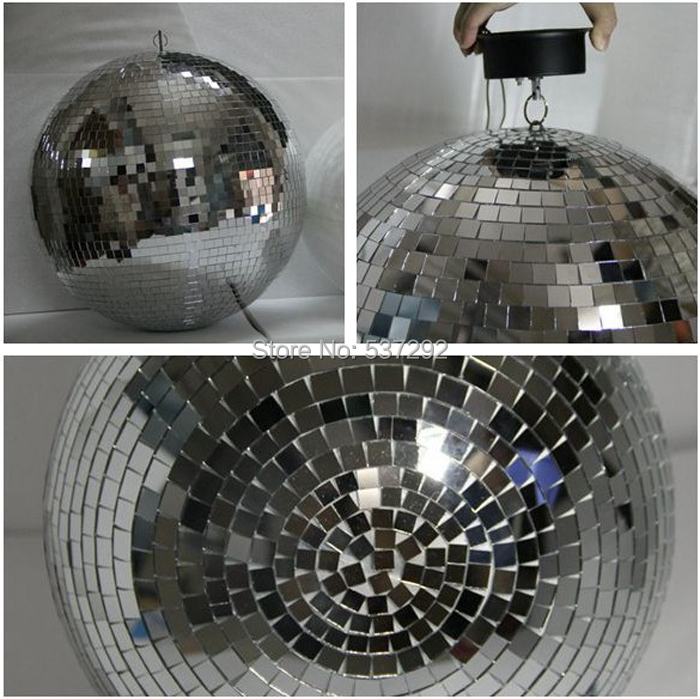Free FedEx/DHL Shipping 2 inch Silver Reflection Glass Ball Rotating Mirror Disco DJ Party Hanging 1 - Shenzhen Qiming Lighting Co., Limited store