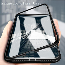 Magnetic Metal Case For Xiaomi Redmi Note 8 7 6 5 Pro 8A 7A