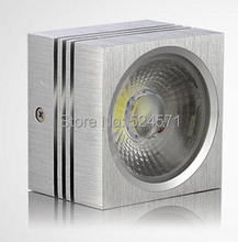 Wholesale Price - hot item 9W square Led Downlight COB lighting Warm Cool White surface mounted downlights AC85-265V