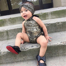 2016 New Arrival Ruffles Newborn Kids Baby Girls Jumpsuit Bodysuit Outfits Summer Sunsuit