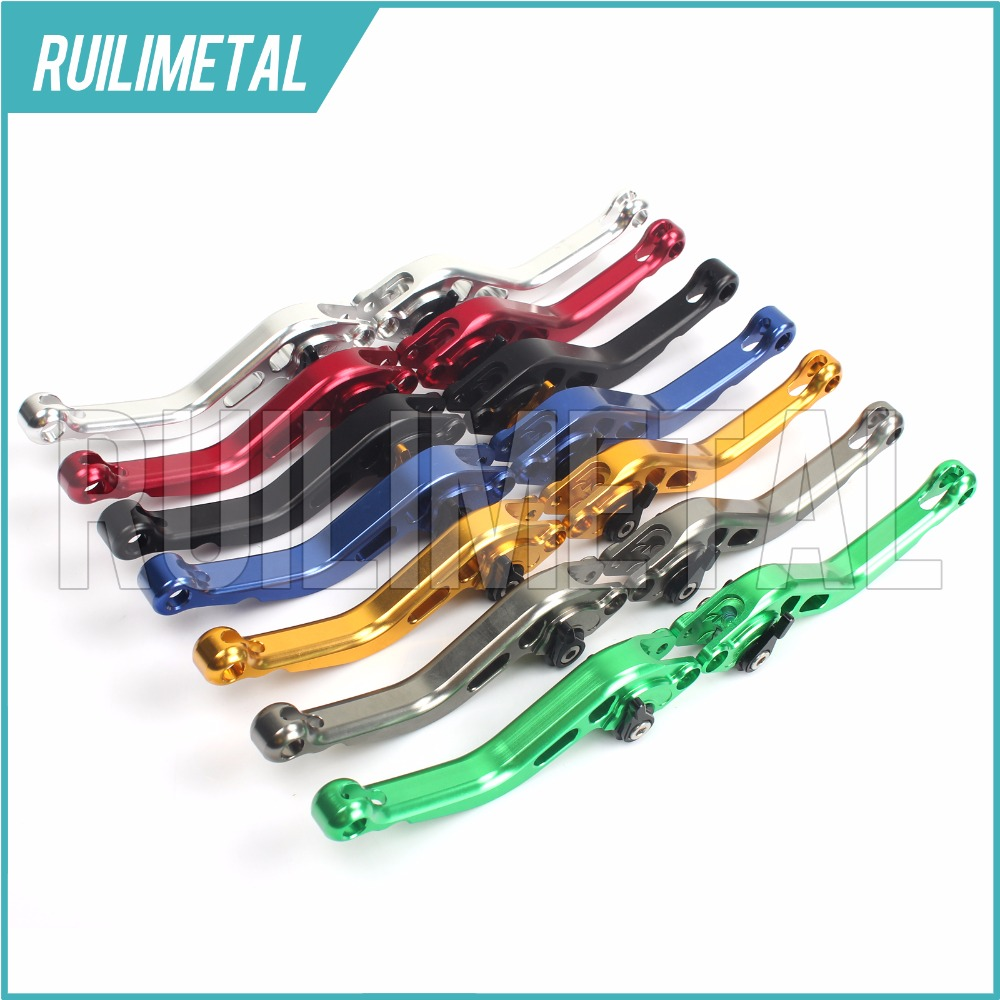 Adjustable Short Clutch Brake Levers for APRILIA RSV1000 R Mille Factory 2004 2005 2006 2007 2008 04 05 06 07 08 for aprilia rsv 1000 mille 2004 2007 cnc aluminum front
