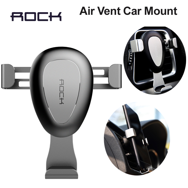 Rock Metal Mobile Car Phone Holder Stand Adjustable 6 0 inch For Iphone 7 Plus 6