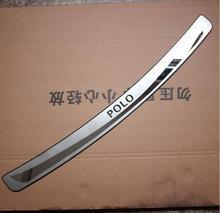 Порог защитной накладки на заднюю крышку багажника отделка задней двери хэтчбек версия для POLO 2011—2018